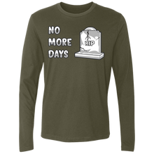 Load image into Gallery viewer, NL3601 Men's Premium LS No More Days
