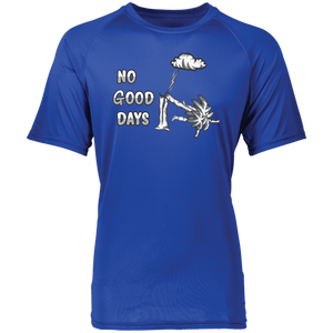 2790 Raglan Sleeve Wicking No Good Days Shirt