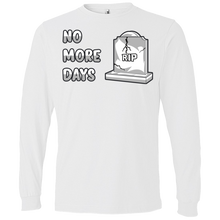 Load image into Gallery viewer, 949 Lightweight LS No More Days T-Shirt