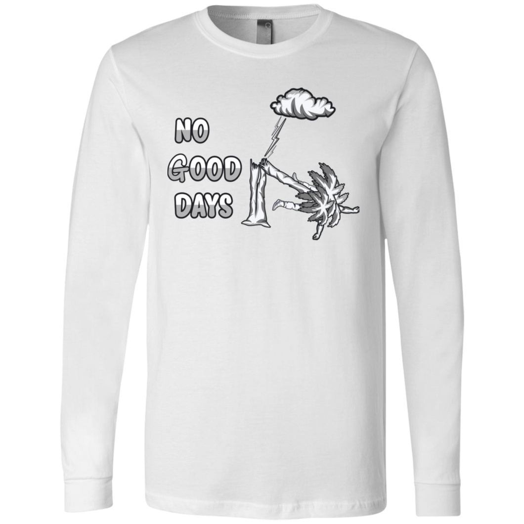3501 Men's Jersey LS No Good Days T-Shirt