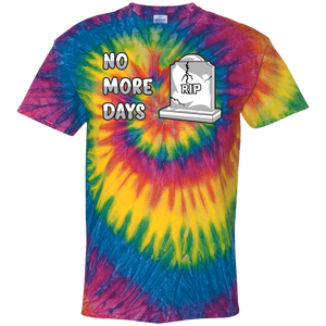 CD100Y Youth Tie Dye No More Days T-Shirt
