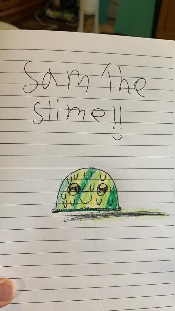 Sam the Slime by Lily, age 8