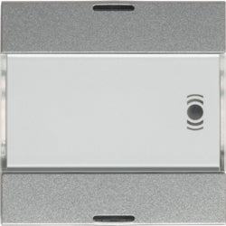 Systo 1 gang KNX  Push button + 12 IR inputs,  ALU - WST322T