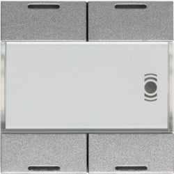 Systo 2 gang KNX Push button + 12 IR inputs,  ALU - WST324T