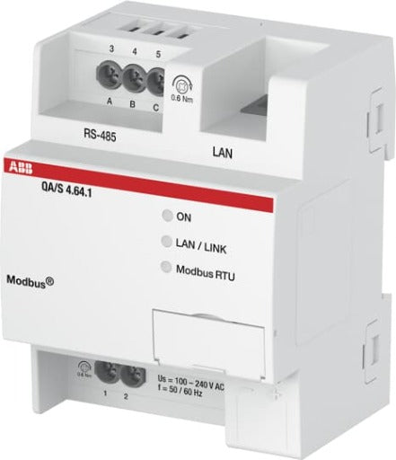 Energy Analyzer, Modbus RTU - QA/S4.16.1