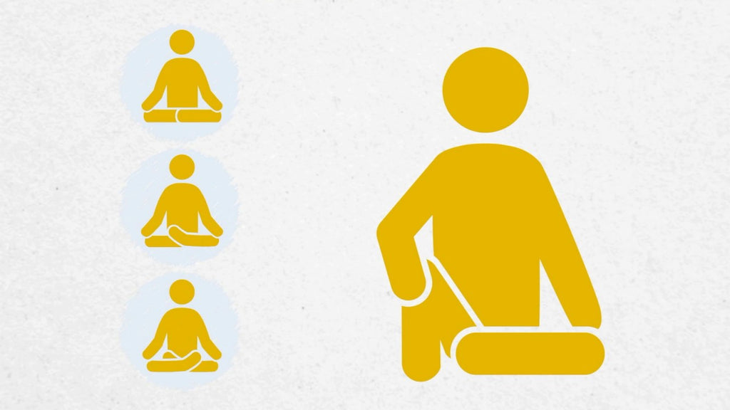 What sitting postures are there for meditation?