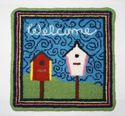 Welcome Large Rug Hooking Kit | 10 x 10