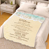 Forever & Always You Are my Sunshine  Wife Personalized Blanket