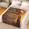 To My Beautiful Wife I Don't Know How Long  Personalized Blanket