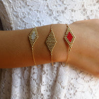 Diamond Kite Bracelet