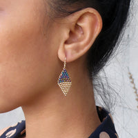 Duotone Kite Earrings