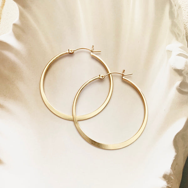 Round Smooth Hoops