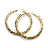 Signature Wrap Hoops