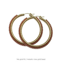 "1.75"" Large Signature Wrap Hoops"