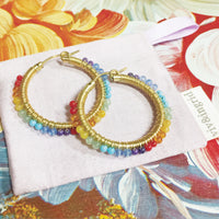 Rainbow Wrap Hoops