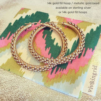 "1.75"" Large Signature Spiral Hoops"