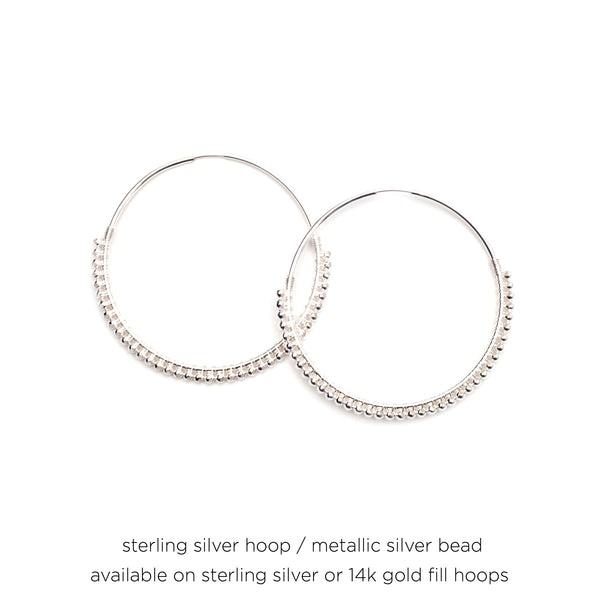 "1.25"" Signature Skinny Hoops"