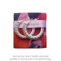 "1.25"" Medium Signature Spiral Hoops"