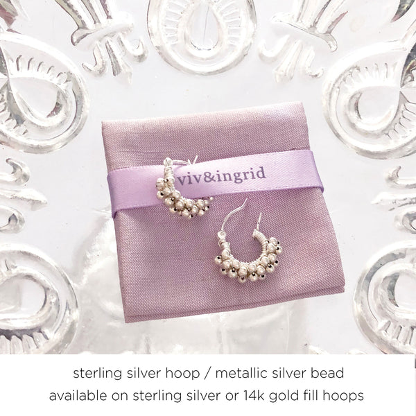 ".5"" - .6"" Extra Small Signature Spiral Hoops"