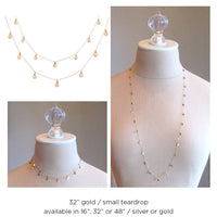 Metallic Paillette Necklace