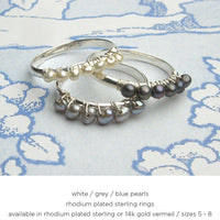 Stackable Wrap Ring Sets