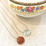 Silk & Stone Necklace