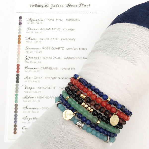 Zodiac Stackable Bracelets