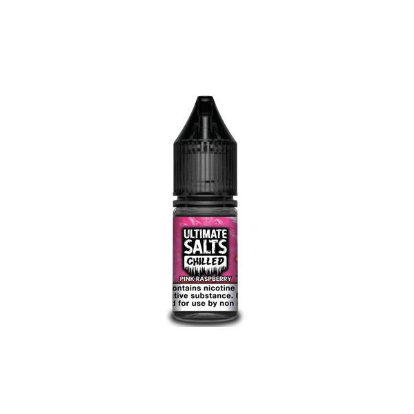 10MG Ultimate Puff Salts Chilled 10ML Flavoured Nic Salts (50VG/50PG)