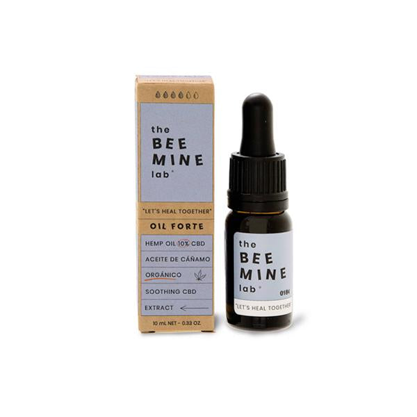 The Beemine Lab 10% 1000mg CBD Oil Forte+ 10ml