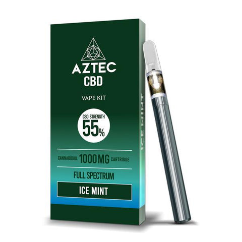 Aztec CBD 1000mg Vape Kit - 1ml