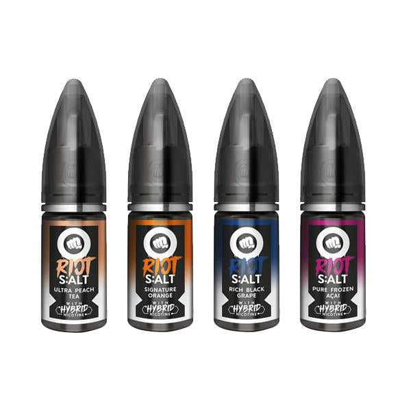 10mg Riot Squad Black Edition Nic Salts 10ml (70VG/30PG)