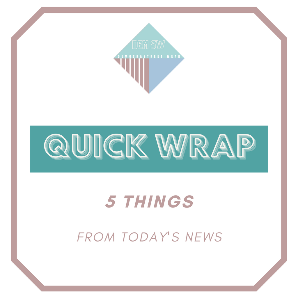 8.1 — 5 Things from the News