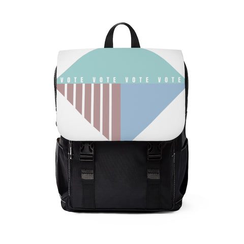 Pastel Geometric votevotevote Backpack