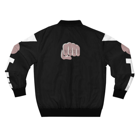 Wear Pink, Black, and Vote on Your Sleeves Bomber