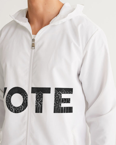 Vote1_KinseyH_Transparent Men's Windbreaker