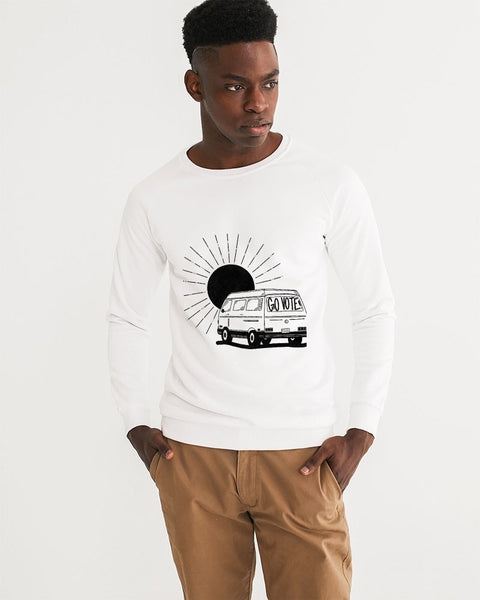 Vote2_KinseyH_Transparent Men's Graphic Sweatshirt