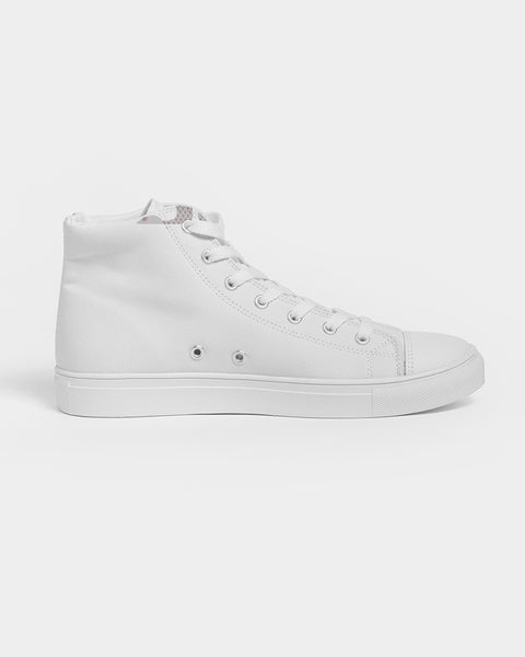 Snake Vote Men's Sized Hightop Canvas Shoe