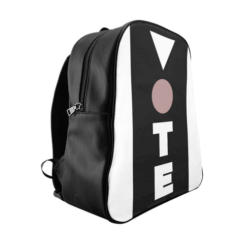 Pink, Black, and Vote Backpack