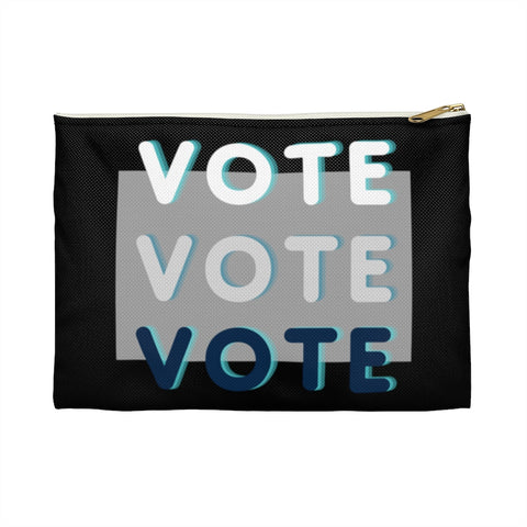 Triple Vote Accessory Pouch