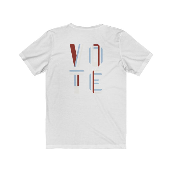 Abstract Line Jersey Short Sleeve Tee