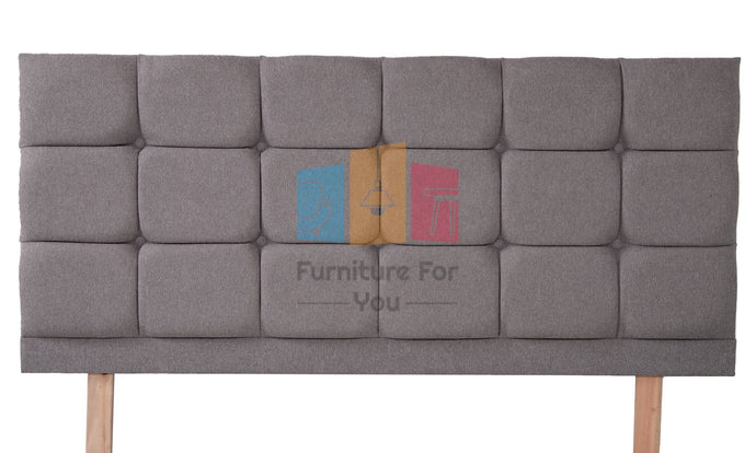 Carlton Wool Upholstered Headboard - Furniture For You Ltd