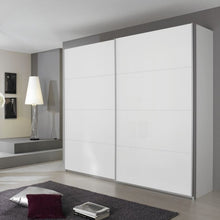 Load image into Gallery viewer, Rauch Quadra Sliding Wardrobe with Full Glass Front