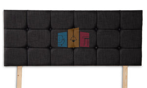 Carlton Cubed Upholstered Headboard - Furniture For You Ltd