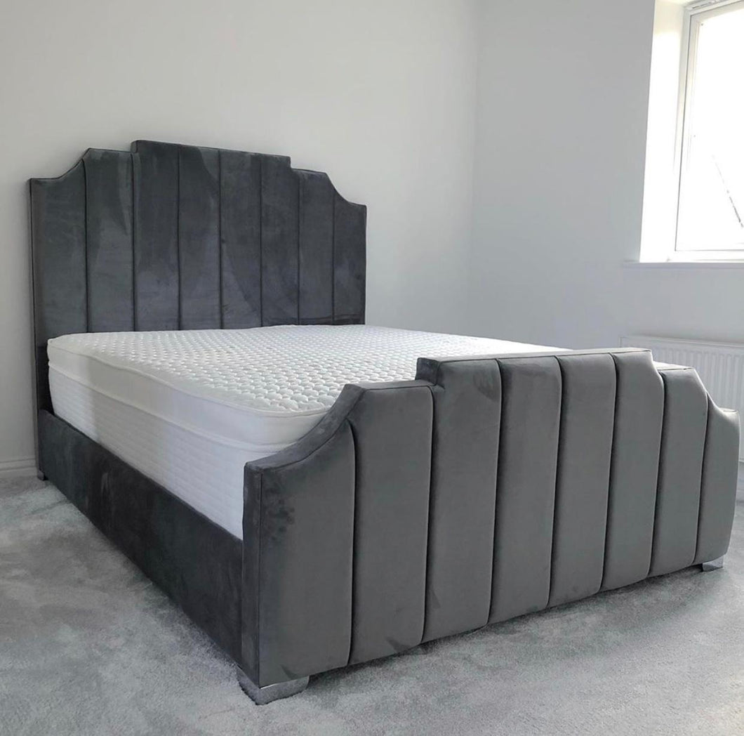 New Art Deco Bed Frame