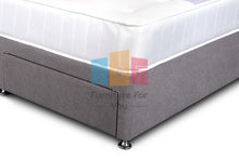 Load image into Gallery viewer, Platinum Wool Divan Bed Set - Furniture For You Ltd