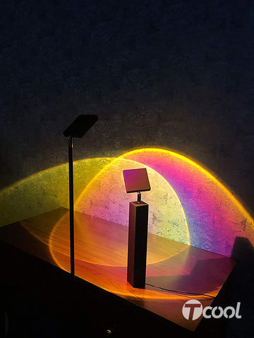 alt={TheseCool}{Marble MoodSunset Lamp}-{front}-01