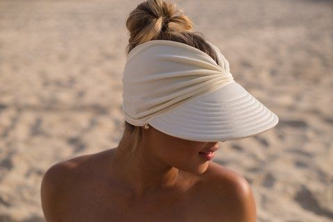 TheseCool-Sun hat-white