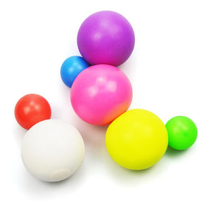 Sticky Anti-stress Bouncy Ball, Squishy Squeeze Ball, 5 PACK Toys thesecool
