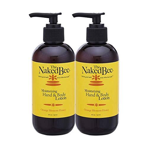 The Naked Bee Orange Blossom Honey Hand & Body Lotion, 8 oz - 2 Pack