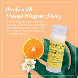 The Naked Bee Orange Blossom Honey Restoration Foot Balm, 2 Oz - 2 Pack